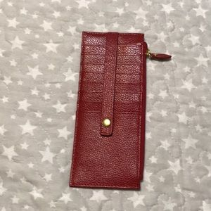 Like new Lodis leather wallet